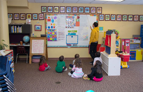 Warm World Preschool Room
