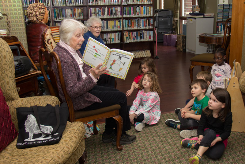 Warm World Story Time with Senior Residents